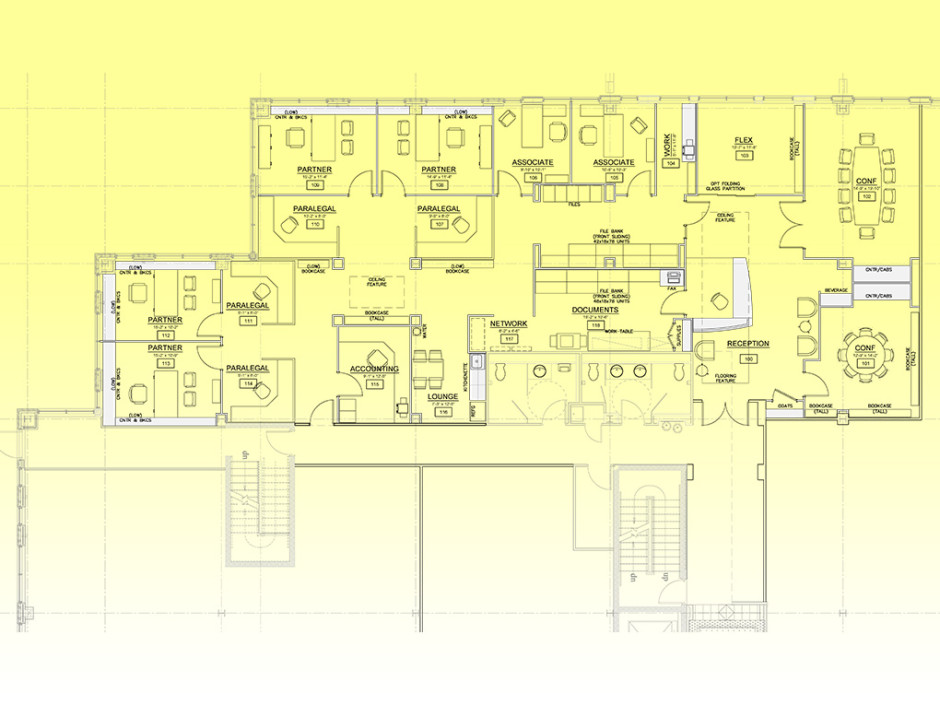 Law Firm Space Plan