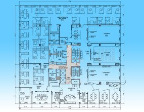 Real Estate Office Plan